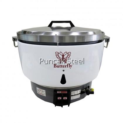 BUTTERFLY Rice Cooker PL50 (Gas) Capacity 10 Liter Periuk Nasi Elektrik Kapasiti Besar Untuk Kenduri Restoran Hotel Kedai Makan Catering