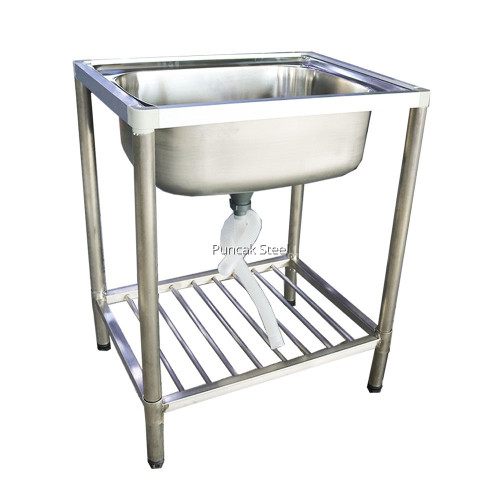 Sink With Kitchen Sink Stand Diy Single Bowl