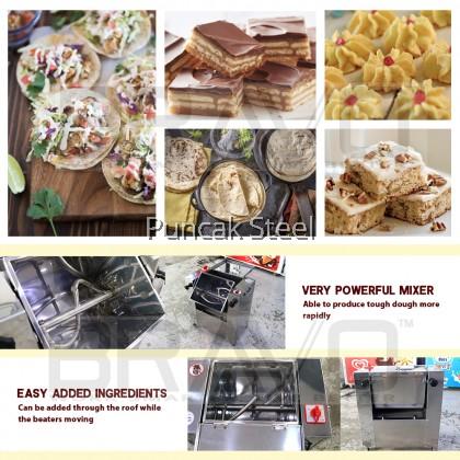 Flour Mixer C/W 1HP Motor - 5KG *Stainless Steel