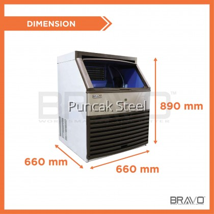 80KG Ice Maker Machine - Daily Production: 80KG