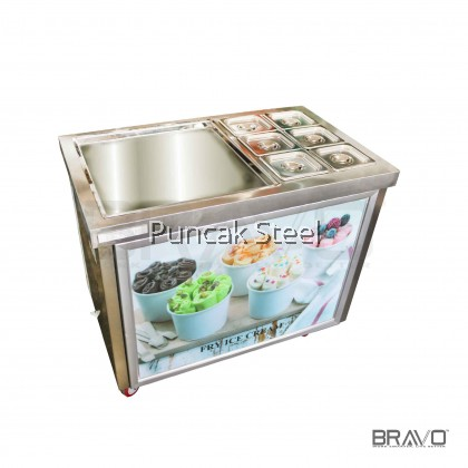 BRAVO Ice Cream Fryer With Pans *SQUARE