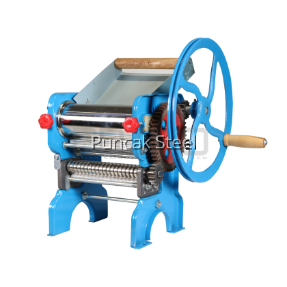 Dough Roller Machine Manual for Pasta Maker, Homemade Mee, Pizza Dough Maker, Pastry Puff Dough and Bread Dough No Electricity Used